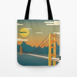 Golden Gate Bridge, San Francisco, California Tote Bag