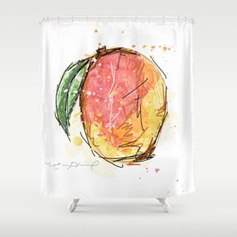 Mango Shower Curtain