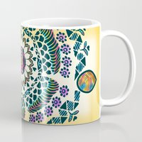 mandala Mugs featuring Mandala by famenxt