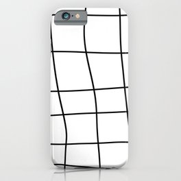 Grid Pattern iPhone Case