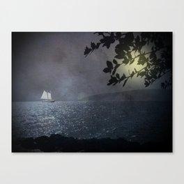 Ein Schiff wird kommen Canvas Print