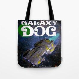 Galaxy Dog Tote Bag