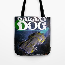 Galaxy Dog Tote Bag