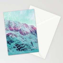 Pastel Magic Mountains Stationery Cards