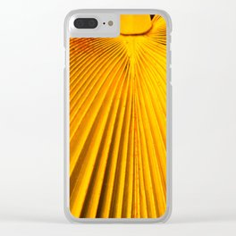 Frond Clear iPhone Case