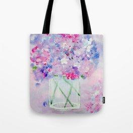 Vase of Wildflowers Tote Bag
