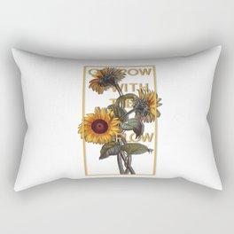 Grow With The Flow Rectangular Pillow