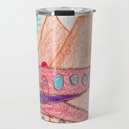 Desert Runway Travel Mug