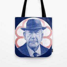Leonard Cohen Portrait Tote Bag