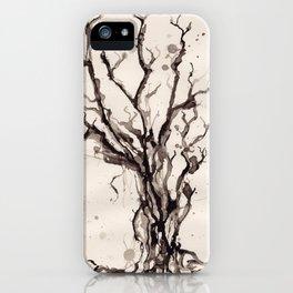 Solum I /// Tree Studies iPhone Case