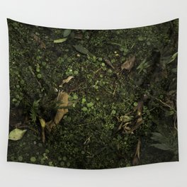 Forest soil Wall Tapestry