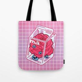 Rose Milk Tote Bag