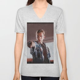 Open The Case - Pulp Fiction Unisex V-Neck