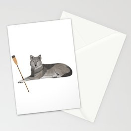 Crew Wolf Stationery Cards