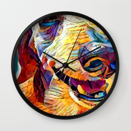 Dachshund 3 Wall Clock