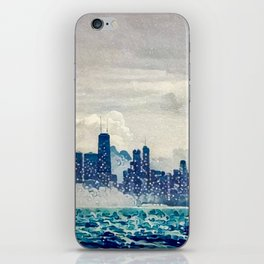 Blue Wave Chicago iPhone Skin