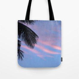 Palms leaf Tote Bag