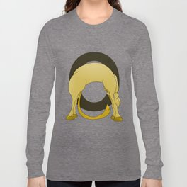 Pony Monogram Letter O Long Sleeve T-shirt
