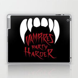 Vampires party harder Laptop & iPad Skin