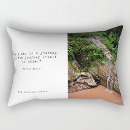 Peruvian Amazon I Rectangular Pillow