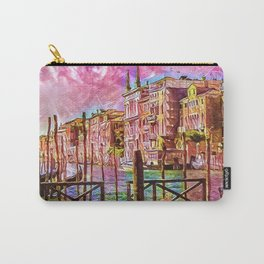 Venice in Pink Carry-All Pouch