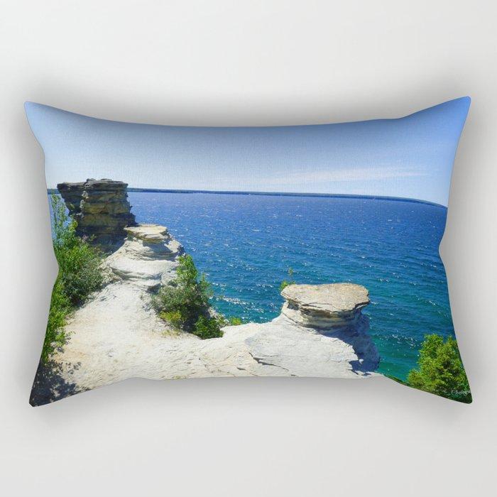 Castle in the Sun Rectangular Pillow