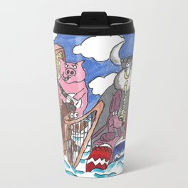 Animal Orchestra Travel Mug