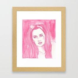 bubblegum b*tch Framed Art Print