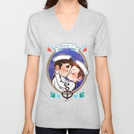 Sailor Unisex V-Neck