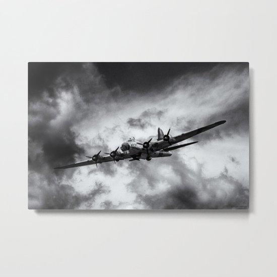 Through The Clouds Metal Print