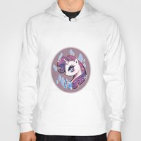 my little pony Hoodies featuring My Little Pony: Rarity by Zelbunnii