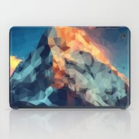 low poly iPad Cases featuring Mountain low poly by Li9z