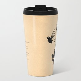 Colorado - State Papercut Print Travel Mug