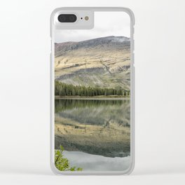 Where the Bears Roam - Many Glacier - Glacier NP Clear iPhone Case