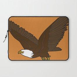 Bird Art Artwork Bald Eagle Flying In Orange Sky Beautiful Womens Decor Gift Laptop Sleeve