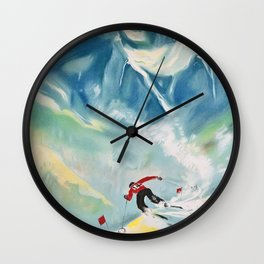 Alpine Wall Clock