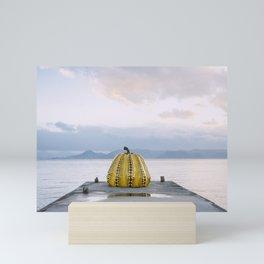 Yayoi Kusama's Yellow Pumpkin Mini Art Print