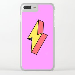 Thunderbolt Clear iPhone Case