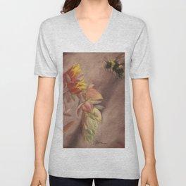 Succulent Delight Unisex V-Neck
