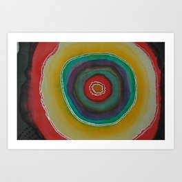 For The Love Of Colour II Art Print