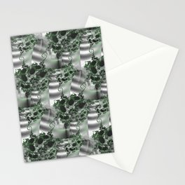 Vertical garden of fractal wall plants Stationery Cards