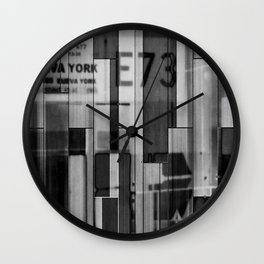 Nueva York E73 Wall Clock