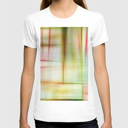 Abstract Plaid Quilt T-shirt