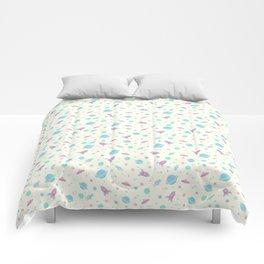 Pastel Space Travel! Comforters