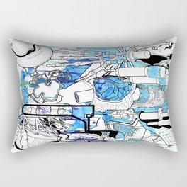 Distant Parts Rectangular Pillow