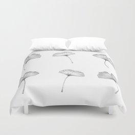 Ginkgo biloba pattern II Duvet Cover
