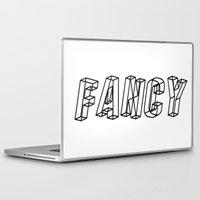 fancy Laptop & iPad Skins featuring Fancy by lapinlune