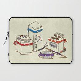 Teenage Mutant Ninja Kitchen Appliances Laptop Sleeve