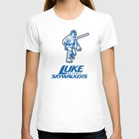 nfl T-shirts featuring Detroit Luke Skywalkers - NFL by Steven Klock