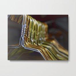 A bunch of hangers Metal Print